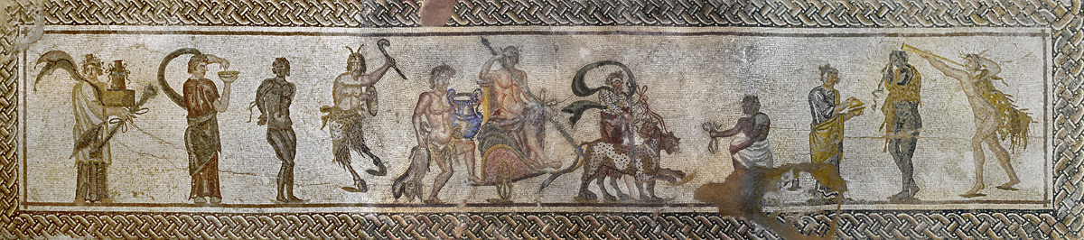 ouc/ouc_department_of_antiquities_republic_of_cyprus/02-MOSAIC TRIUM OF DIONYSOS.tif