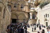South gate of Holy Sepulchre complex