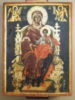 Virgin Mary Enthroned