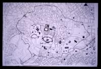 Plan of Athens in the 5th century AD