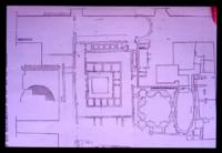 Plan of the imperial palace of Thessaloniki